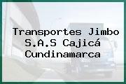 Transportes Jimbo S.A.S Cajicá Cundinamarca