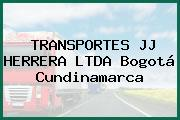TRANSPORTES JJ HERRERA LTDA Bogotá Cundinamarca