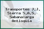 Transportes J.J. Sierra S.A.S. Sabanalarga Antioquia