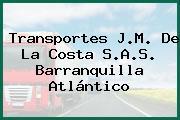 Transportes J.M. De La Costa S.A.S. Barranquilla Atlántico