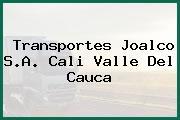 Transportes Joalco S.A. Cali Valle Del Cauca