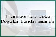 Transportes Jober Bogotá Cundinamarca