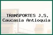 TRANSPORTES J.S. Caucasia Antioquia