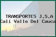 TRANSPORTES J.S.A Cali Valle Del Cauca