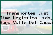 Transportes Just Time Logística Ltda. Buga Valle Del Cauca