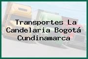 Transportes La Candelaria Bogotá Cundinamarca