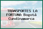 TRANSPORTES LA FORTUNA Bogotá Cundinamarca