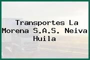 Transportes La Morena S.A.S. Neiva Huila