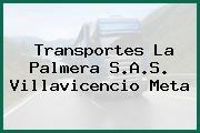 Transportes La Palmera S.A.S. Villavicencio Meta