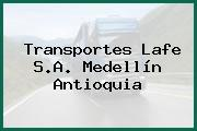Transportes Lafe S.A. Medellín Antioquia