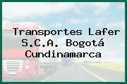 Transportes Lafer S.C.A. Bogotá Cundinamarca