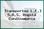 Transportes L.E.I S.A.S. Bogotá Cundinamarca