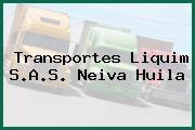 Transportes Liquim S.A.S. Neiva Huila
