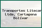 Transportes Litecar Ltda. Cartagena Bolívar