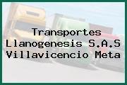 Transportes Llanogenesis S.A.S Villavicencio Meta
