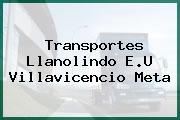 Transportes Llanolindo E.U Villavicencio Meta