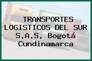 TRANSPORTES LOGISTICOS DEL SUR S.A.S. Bogotá Cundinamarca