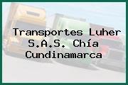 Transportes Luher S.A.S. Chía Cundinamarca