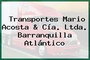 Transportes Mario Acosta & Cía. Ltda. Barranquilla Atlántico