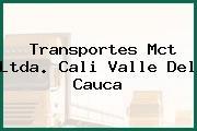 Transportes Mct Ltda. Cali Valle Del Cauca