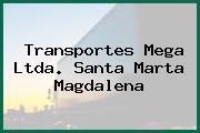 Transportes Mega Ltda. Santa Marta Magdalena