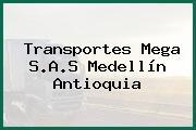 Transportes Mega S.A.S Medellín Antioquia