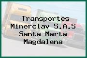 Transportes Minerclav S.A.S Santa Marta Magdalena