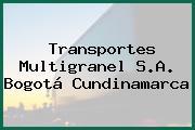 Transportes Multigranel S.A. Bogotá Cundinamarca