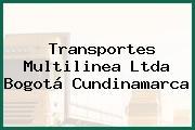 Transportes Multilinea Ltda Bogotá Cundinamarca