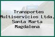 Transportes Multiservicios Ltda. Santa Marta Magdalena