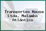 Transportes Nausa Ltda. Malambo Atlántico