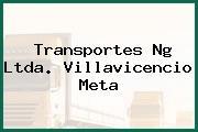 Transportes Ng Ltda. Villavicencio Meta