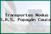 Transportes Nodus S.A.S. Popayán Cauca