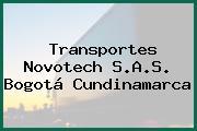 Transportes Novotech S.A.S. Bogotá Cundinamarca