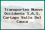 Transportes Nuevo Occidente S.A.S. Cartago Valle Del Cauca