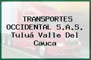 TRANSPORTES OCCIDENTAL S.A.S. Tuluá Valle Del Cauca