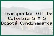 Transportes Oil De Colombia S A S Bogotá Cundinamarca