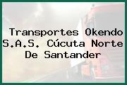 Transportes Okendo S.A.S. Cúcuta Norte De Santander