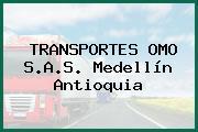 TRANSPORTES OMO S.A.S. Medellín Antioquia