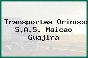 Transportes Orinoco S.A.S. Maicao Guajira