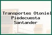 Transportes Otoniel Piedecuesta Santander