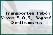 Transportes Pabón Vivas S.A.S. Bogotá Cundinamarca