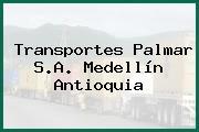 Transportes Palmar S.A. Medellín Antioquia