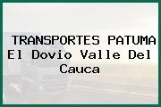 TRANSPORTES PATUMA El Dovio Valle Del Cauca