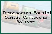 Transportes Pausini S.A.S. Cartagena Bolívar