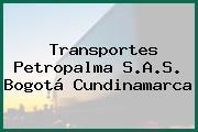 Transportes Petropalma S.A.S. Bogotá Cundinamarca