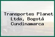 Transportes Planet Ltda. Bogotá Cundinamarca