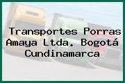 Transportes Porras Amaya Ltda. Bogotá Cundinamarca