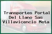 Transportes Portal Del Llano Sas Villavicencio Meta