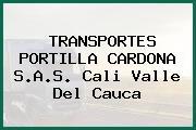 TRANSPORTES PORTILLA CARDONA S.A.S. Cali Valle Del Cauca